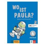 Wo ist Paula? 4. Arbeitsbuch mit CD-ROM (MP3-Audios). Deutsch für die Primarstufe - Ernst Endt, Michael Koenig