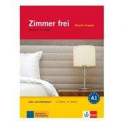 Zimmer frei, Lehr- und Arbeitsbuch mit 3 Audio-CDs. Deutsch im Hotel - Cover Ulrike Cohen