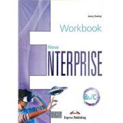 Curs Limba Engleza. New Enterprise B2+/C1 caietul elevului cu digibook app - Jenny Dooley