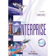 Curs Limba Engleza. New enterprise B2+/C1 manualul elevului cu digibook app - Jenny Dooley