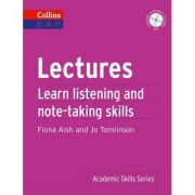 Academic Skills - Lectures B2+. Learn academic listening and note-taking skills - Fiona Aish, Jo Tomlinson