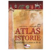 Atlas de istorie pentru clasa a IV-a - Alina Pertea