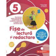 Fise de lectura si redactare. Clasa a V-a - Cristina Cergan, Cristina Radu, Iris Tanasescu