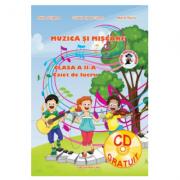 Muzica si miscare caiet de lucru pentru clasa a IV-a - Adina Grigore