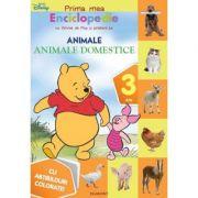 Prima mea Enciclopedie cu Winnie de Plus si prietenii lui. Animale. Pajistea cu animale (3 ani) - Cu abtibilduri colorate