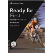 Ready for First coursebook with key and MPO 3rd edition - Roy Norris