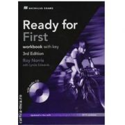 Ready for First workbook with key and CD 3rd edition - Roy Norris