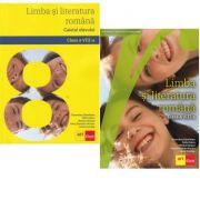 Pachet Limba si literatura romana pentru clasa a VIII-a: manual si caiet, autor Sofia Dobra, Florentina Samihaian