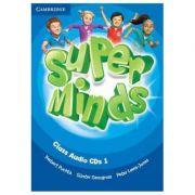 Super Minds Level 1, Class Audio CDs - Herbert Puchta, Gunter Gerngross, Peter Lewis-Jones