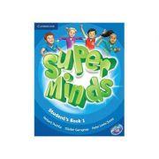 Super Minds Level 1, Student's Book with DVD-ROM - Herbert Puchta, Gunter Gerngross, Peter Lewis-Jones