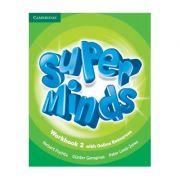 Super Minds Level 2, Workbook with Online Resources - Herbert Puchta, Gunter Gerngross, Peter Lewis-Jones