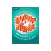 Super Minds Level 3, Class Audio CDs - Herbert Puchta, Gunter Gerngross, Peter Lewis-Jones