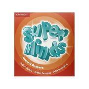 Super Minds Level 4, Posters - Herbert Puchta, Gunter Gerngross, Peter Lewis-Jones