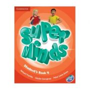 Super Minds Level 4, Student's Book with DVD-ROM - Herbert Puchta, Gunter Gerngross, Peter Lewis Jones