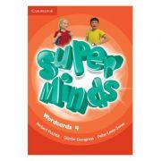 Super Minds Level 4, Wordcards - Herbert Puchta, Gunter Gerngross, Peter Lewis-Jones