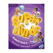 Super Minds Level 6, Student's Book with DVD-ROM - Herbert Puchta, Gunter Gerngross, Peter Lewis-Jones