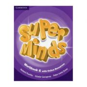Super Minds Level 6, Workbook with Online Resources - Herbert Puchta, Gunter Gerngross, Peter Lewis-Jones