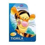 Tigrila (Carte de colorat cu sabloane)