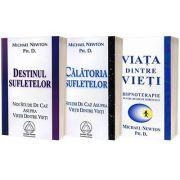 Serie de autor Michael Newton Ph. D. Calatoria Sufletelor, Destinul Sufletelor, Viata dintre vieti (set de 3 carti) - Michael Newton, Ph. D.