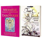 Set 2 carti - Tarot, interpretari si practici secrete si Mesajele tainice uimitoare ale Tarotului