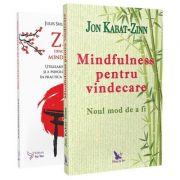 Pachet de carti Mindfulness - Jules Shuzen Harris, Jon Kabat-Zinn