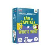 Tari si capitale. Who's who. Carti de joc educative