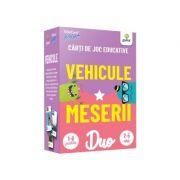 Vehicule • Meserii. Carti de joc educative
