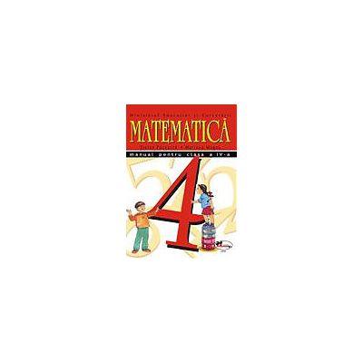 Matematica. Manual pentru clasa a IV-a - Stefan Pacearca, Mariana Mogos