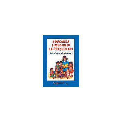 Educarea limbajului la prescolari (carte + 12 planse)