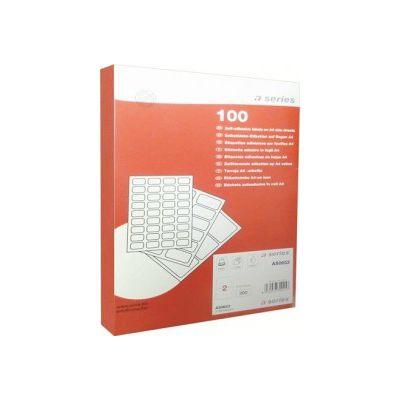Etichete autoadezive A-series, 2/A4, 200 buc (AY000101)
