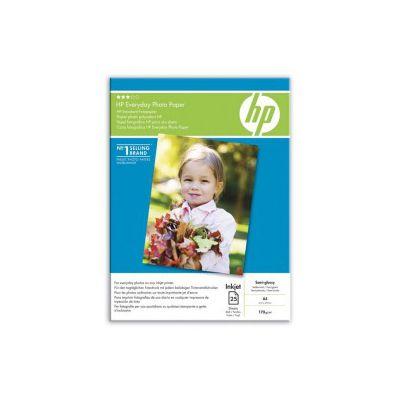 Hartie foto inkjet HP, A4, 170 gr/mp, lucioasa