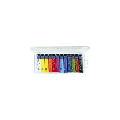 Tempera Morocolor 12 ml, 12 culori/set (MC15411)
