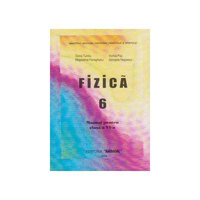 Manual fizica pentru clasa a VI-a - Doina Turcitu