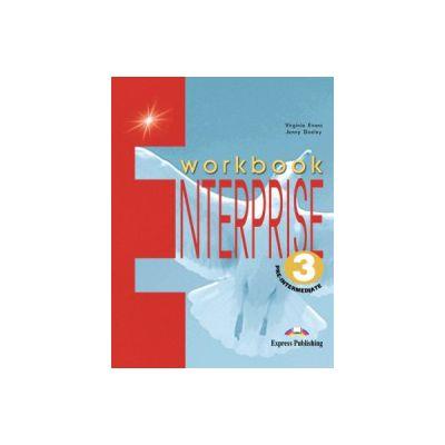 Enterprise 3 Pre-Intermediate. WorkBook, Curs de limba engleza - Jenny Dooley