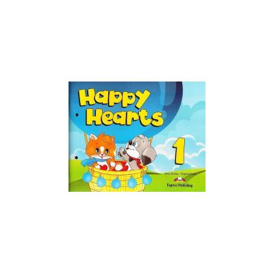Happy Hearts 1, Pupils Pack, (Song CD, DVD, Press outs, Stickers, Holiday Activities) - Jenny Dooley