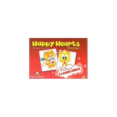 Happy Hearts, Starter, Picture flashcards. Curs de limba engleza pentru prescolari - Jenny Dooley