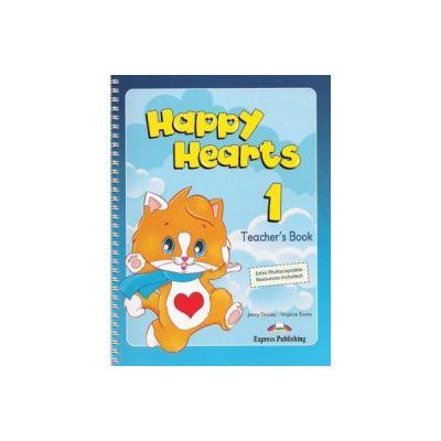 Happy Hearts 1, Manualul profesorului, Curs pentru prescolari - Virginia Evans