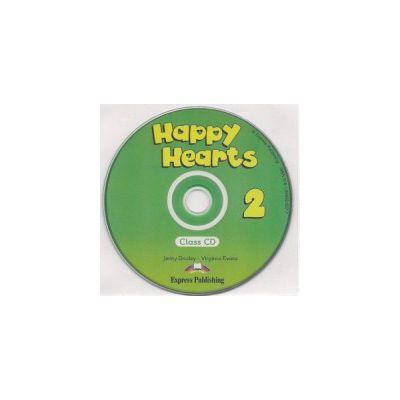 Happy Hearts 2, Class CD, Curs de limba engleza pentru prescolari - Jenny Dooley