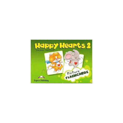 Happy Hearts 2, Picture Flashcards. Curs de limba engleza pentru prescolari - Jenny Dooley