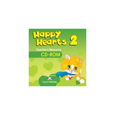 Happy Hearts 2, Teachers Resource CD-ROM. Curs de limba engleza pentru prescolari - Jenny Dooley