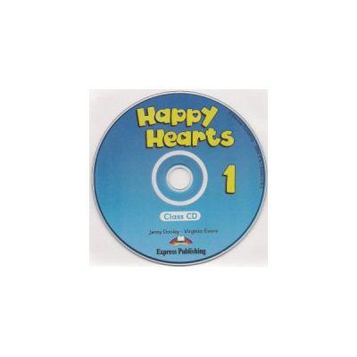 Happy Hearts 1, Audio CD, Curs de limba engleza - Jenny Dooley