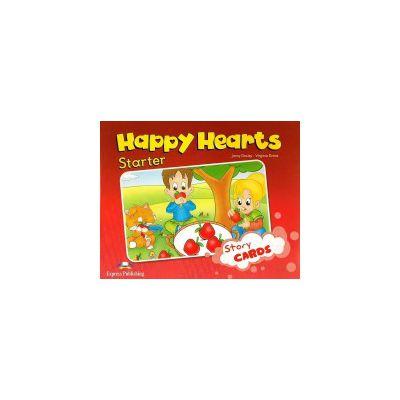 Happy Hearts, Starter, Story Cards - Jenny Dooley