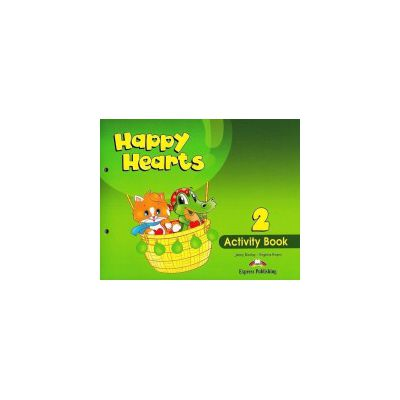 Happy Hearts 2, Activity Book. Curs de limba engleza pentru prescolari - Jenny Dooley