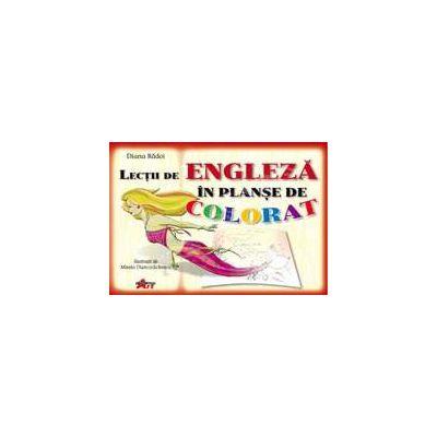 Lectii de Engleza- Planse de colorat (7-12 ani)