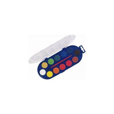 Acuarele Morocolor, 12 culori, diametru pastila 30 mm (MC15402)