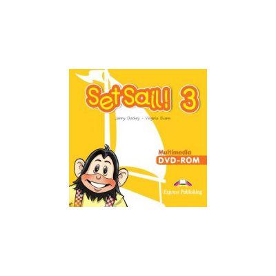 Set Sail 3, Multimedia DVD-rom, Curs limba engleza - Virginia Evans