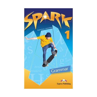 SPARK 1, Monstertrackers, Grammar Book, Curs limba engleza - Jenny Dooley