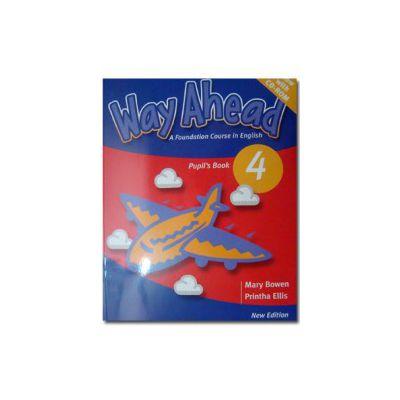 Way Ahead 4, Manual de limba engleza Pupil's Book+CD Pack - Mary Bowen