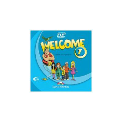 Welcome 1 DVD Curs de limba engleza - Elizabeth Gray