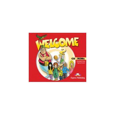 Welcome 2 CD-ROM (set 4 CD-uri ) Curs de limba engleza pentru clasa IV